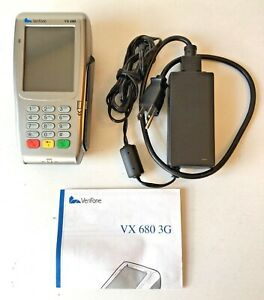 Verifone Vx 680 3g m268 793 c6 usa 3 Excellent Condition unlocked used