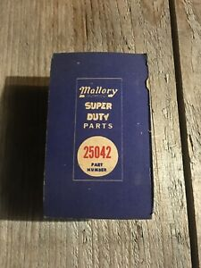 Mallory Distributor Points 25042 Nos