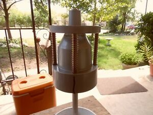 Vintage Wheel Hub Tire Bubble Balancer Machine By Central Machinery