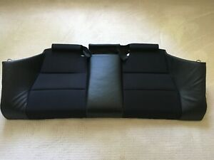 Bmw E46 M3 Oem Coupe Rear Seat Base Bottom Black Impuls Anthracite Cloth Leather