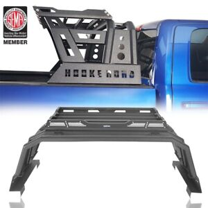 Fit Dodge Ram 1500 2009 2018 Black Off road High Roof Bed Cross Bar W cargo Rack