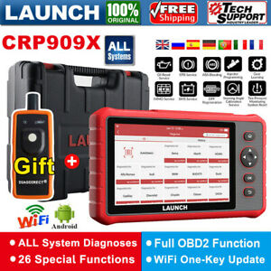 Launch X431 Crp909x Pro Auto Diagnostic Tool Obd2 Scanner All System As Mk808