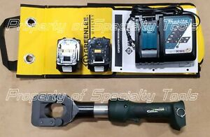 Greenlee Gator Esg45lx Battery Hydraulic Acsr Guy Ground Rod Cable Cutter Esg45x