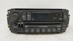 2002 2005 Dodge Ram 1500 Am Fm Cd Player Radio Receiver 62040