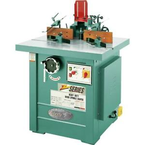 Grizzly G7214z 7 1 2 Hp 3 phase Spindle Shaper