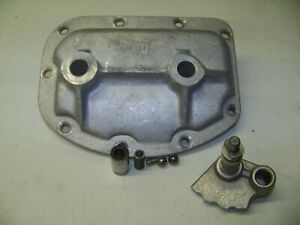 Early Borg Warner T 10 4 Speed Side Cover 12 6 61