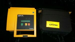 Lifepak 500 With Carry Case good Working Condition Biomed Tested