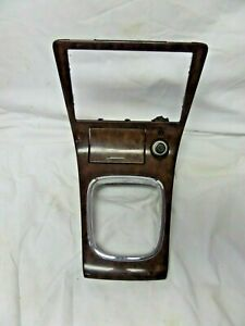 01 02 2001 Mazda Millenia Center Console Shifter Trim Bezel Ashtray Woodgrain