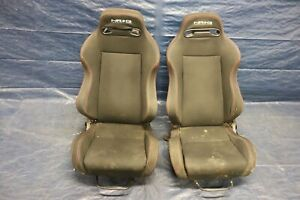 2005 06 Acura Rsx Type s K20z1 Nrg Lh Rh Front Seat Pair wear Rip 4453