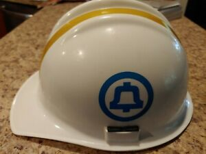 Vintage Bullard Hard Boiled Hard Hat White No Liner