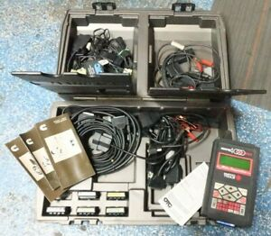 Matco Otc Enhanced Monitor 4000 Diagnostic System Scan Tool Case Cables h42