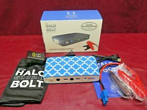 Halo Bolt 57720 Ultimate Portable Charger Car Jump Start Device Power Open Box