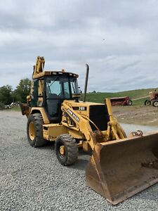 John Deere 310d Loader Backhoe