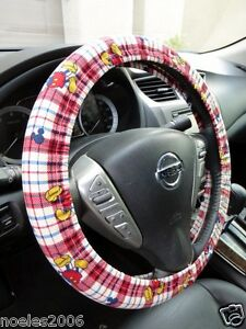 Hand Made Steering Wheel Covers Walt Disney Mickey Mouse