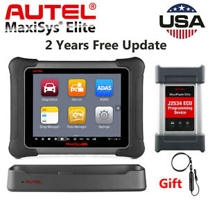 Autel Maxisys Elite Obd2 Auto Diagnostic Scan Tool J2534 Ecu Programming Mk908p
