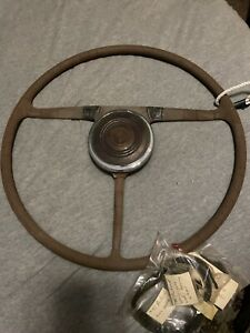 1940 Packard Steering Wheel Or Rat Rod
