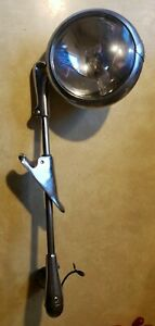 Chrome Police Spot Light Unity Mfg Co Chgo U S A Model S6 With Ge Light