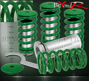94 97 98 01 Integra Dc2 Ls Rs Gs Gsr Scale Adjustable Coilover Sleeves Kit Green