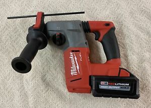 Milwaukee 2712 20 M18 Fuel Brushless Cordless 1 sds plus Rotary Hammer W Battery