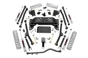 Rough Country 4 Long Arm Suspension Lift Kit Grand Cherokee Zj 93 98