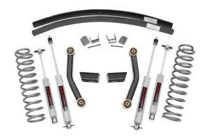 Rough Country 3 Series Ii Lift Kit W N3 Shocks For Jeep Cherokee Xj 84 01