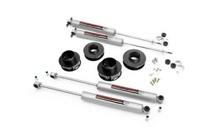 Rough Country 2 Suspension Lift Kit For Jeep Grand Cherokee Wj 1999 2004