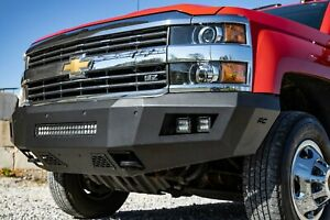 Rough Country Chevy Heavy Duty Front Led Bumper 15 19 Silverado 2500 Hd 3500 Hd