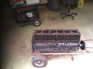 235 Ci Chevy Engine Block