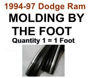 1994 1997 Dodge Ram 1500 2500 3500 Body Side Molding Trim By The Foot