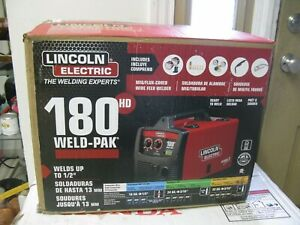 Lincoln Electric 180hd Weld Pak Mig Tig Pro 180 Hd Wire Feed Welder K2515 1