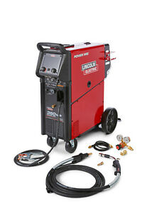 Lincoln Power Mig 360mp Multi process Mig Welder K4467 1
