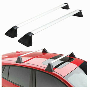 For 12 16 Subaru Impreza Oe Style Fixed Roof Rack Cross Bars Set Luggage Carrier