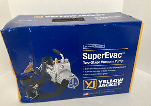 Yellow Jacket 93560 Superevacv6 Cfm 2 Stage Vacuum Pump
