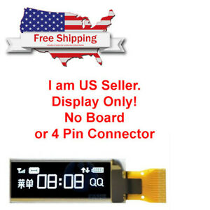 5pcs 0 91 128x32 I2c White Oled Lcd Display Module For Arduino Usa Seller