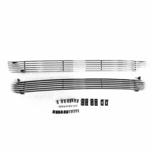 Billet Grille Insert Combo For 1999 2002 Chevy Silverado 1500 2000 2006 Tahoe