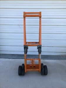 Block And Roll Tent Ballast Mover Dolly Concrete Block