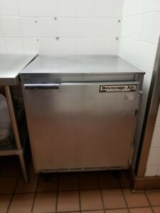Beverage air 24 Work Top Single Door Reach In Freezer
