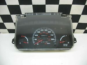 1989 1995 Geo Tracker Suzuki Sidekick Instrument Cluster Assembly Oem No Tach