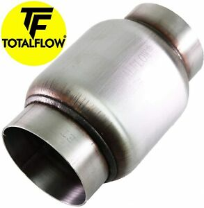 Totalflow 642 Mini Muffler 409ss 3 Round Width 4 Body 6 Overall Length New