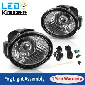 2pcs For 2002 2003 2004 Nissan Altima Front Fog Light Lamps W Bulbs Wiring Kit