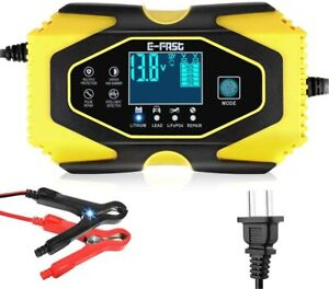 Automatic Smart Battery Charger 24 12v Battery Charger Battery Maintainer With
