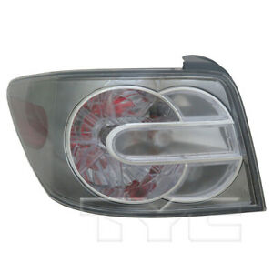 Tail Light Rear Lamp Left Driver For 07 09 Mazda Cx 7