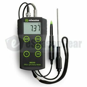 Food Ph Meter Milwaukee Mw102 Ma920 Probe For Cheese Meat Dairy Products