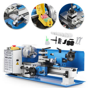 7 x14 Blue Mini Lathe Metal Digital Cj18a Turning Milling accessory Package