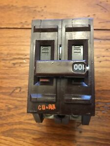 Wadsworth 100 Amp 2 Pole Circuit Breaker Continuity Tested