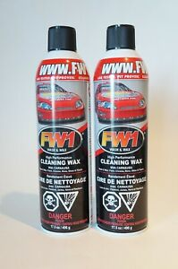 Fw1 Waterless Exterior Car Cleaner Wash And Wax Spray Lot Of 2 Free Ship