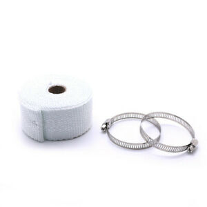 Exhaust Pipe Heat Insulation Tape Thermal Manifolds Wrap For Car Motorcycle 5m