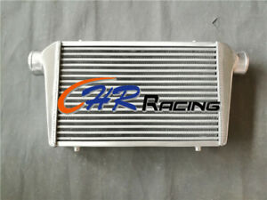 Fmic Aluminum Turbo Intercooler 450x300x70mm Inlet Outlet 76mm 3 Tube Fin