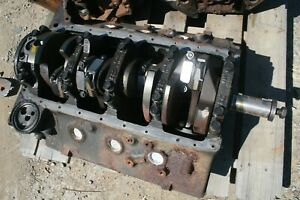 Gmc Diesel Engine Block 6 5l Turns Freely