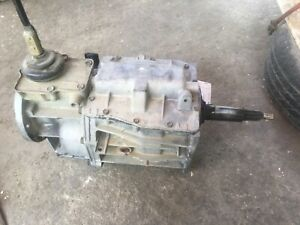 Ford Tremec Borg Warner Wc T5 5 Speed Includ Revers Transmission 13 52 065 921